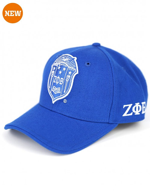 Zeta Phi Beta Shield Cap