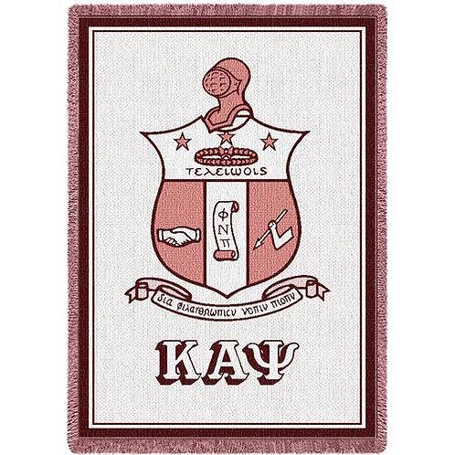 Kappa Alpha Psi Shield Blanket
