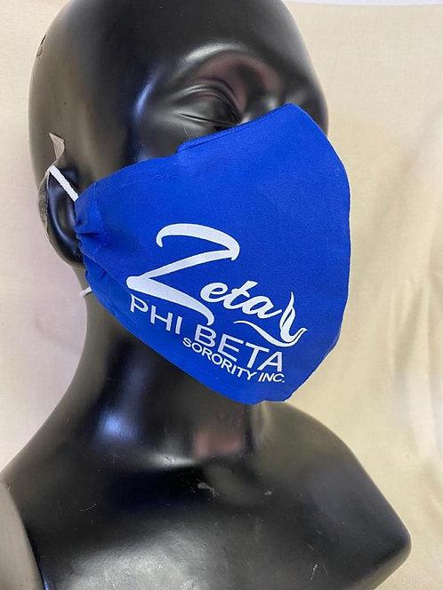 Zeta Phi Beta Mask