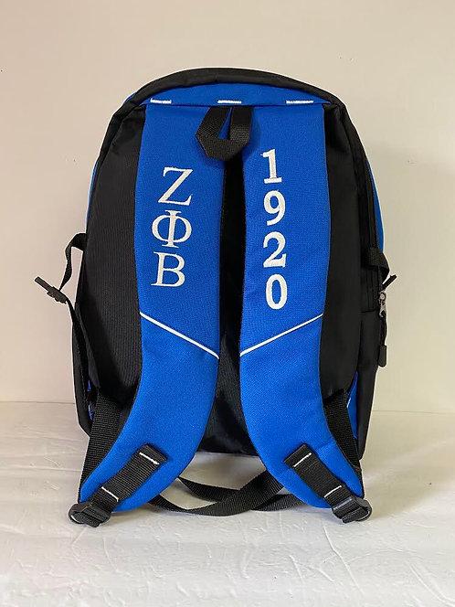 Zeta Phi Beta Royal Backpack