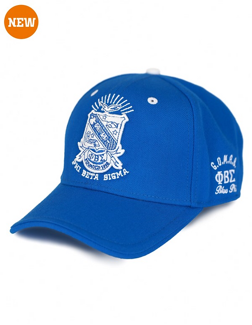 Phi Beta Sigma Shield Cap