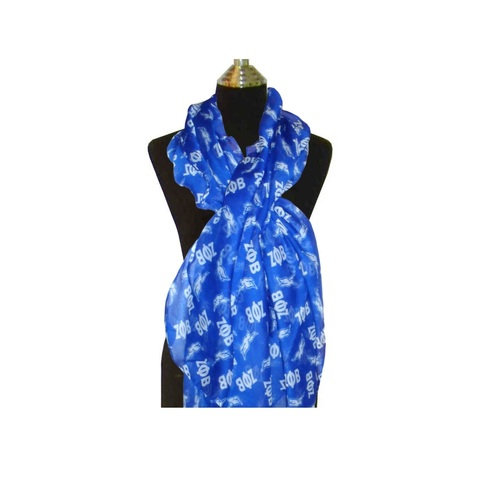 Zeta Phi Beta Sorority Extra Large Scarf