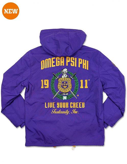 Omega Psi Phi Windbreaker