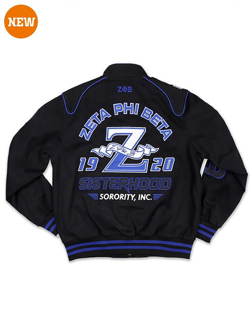 Zeta Phi Beta Twill Jacket