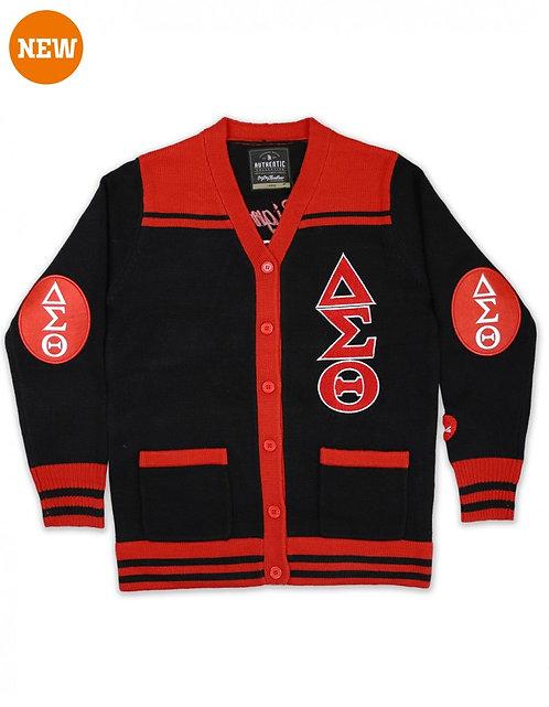 Delta Sigma Theta Button Down Sweater