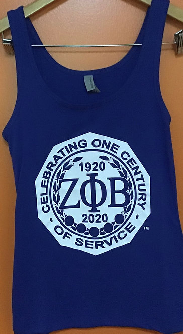 Zeta Phi Beta Centennial Tank Top