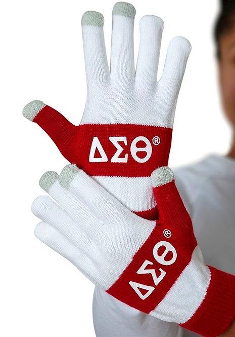 Delta Sigma Theta Texting Gloves
