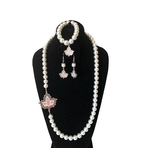 Alpha Kappa Alpha Pearls Set