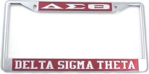 Delta Sigma Theta License Frames