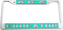 Alpha Kappa Alpha License Frames