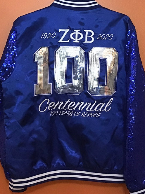 Zeta Phi Beta Centennial Sequin Jacket