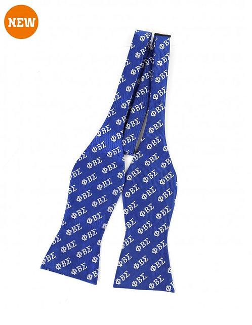 Phi Beta Sigma silk bow tie set