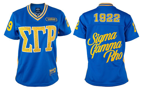 Sigma Gamma Rho Football Jersey