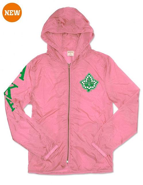 Alpha Kappa Alpha Light Jacket w/pocket