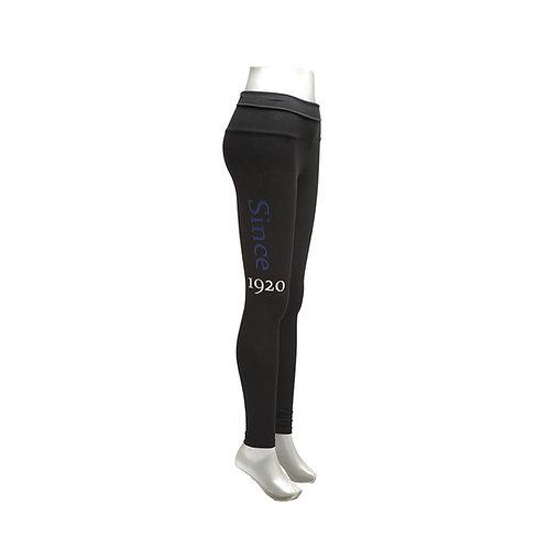 Zeta Phi Beta Yoga Legging
