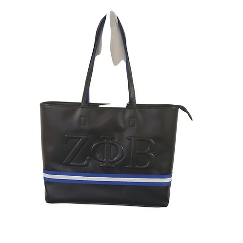 Zeta Phi Beta tote bag