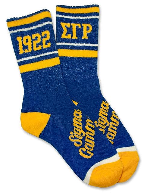 Sigma Gamma Rho Sock