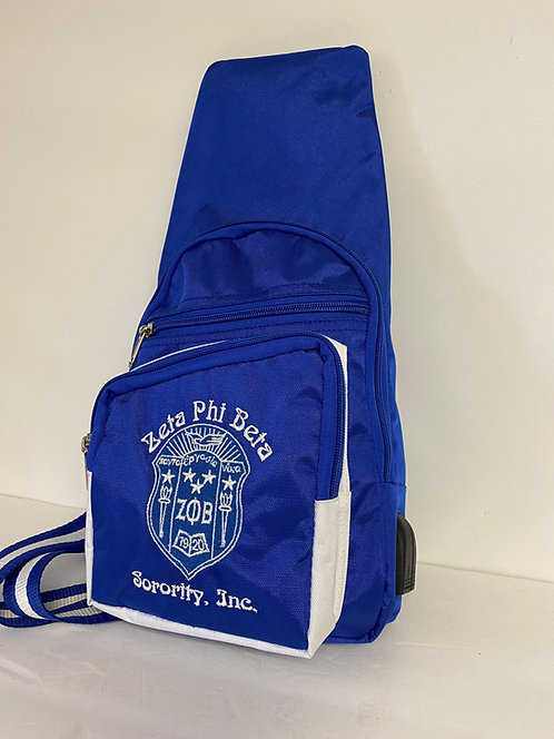 Zeta Phi Beta Shoulder Bag