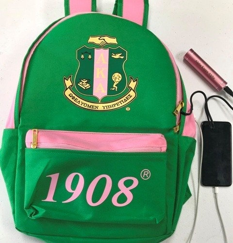 Alpha Kappa Alpha Backpack