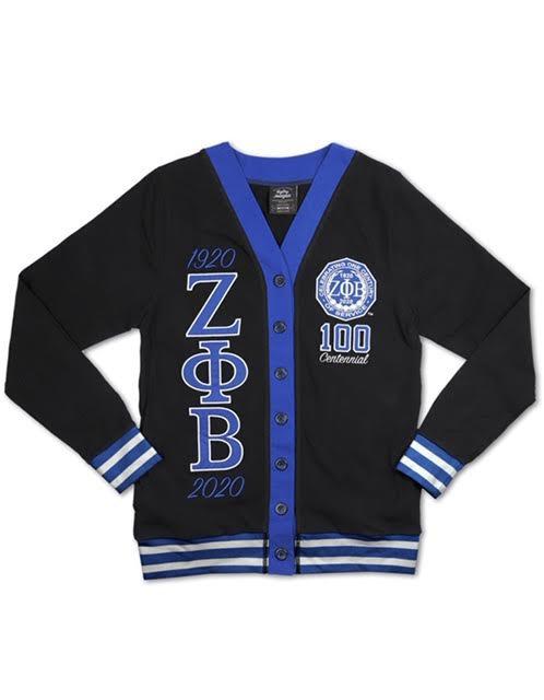 Zeta Phi Beta Centennial Cardigan