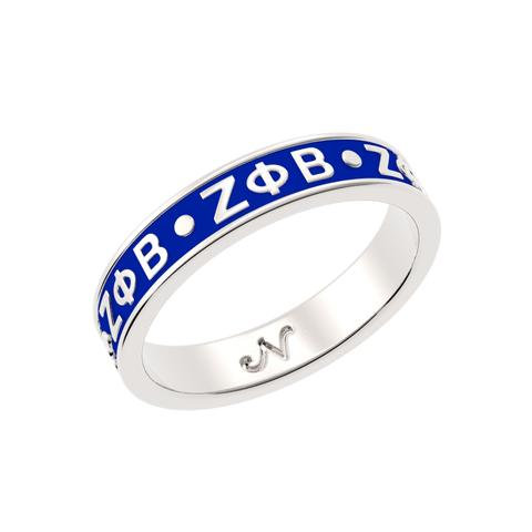 Zeta Phi Beta Ring