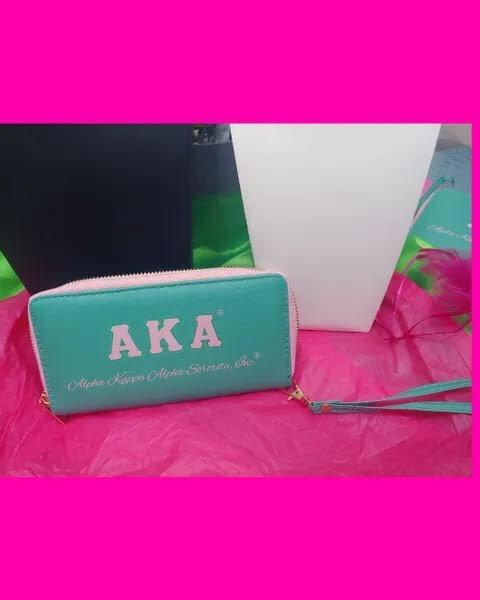 Alpha a Kappa Alpha Wallet