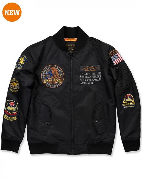 Buffalo Soldiers Bomber Jacket