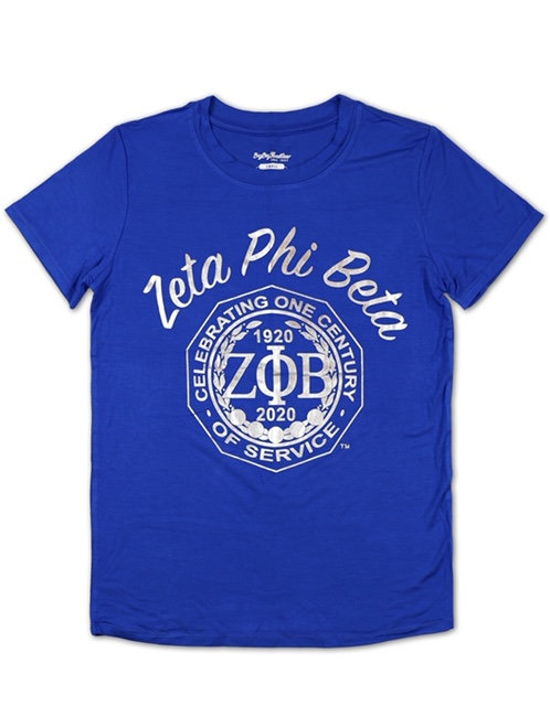 Zeta Phi Beta Centennial Foil T shirt