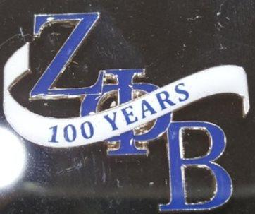 Zeta Phi Beta 100 Years Lapel Pin