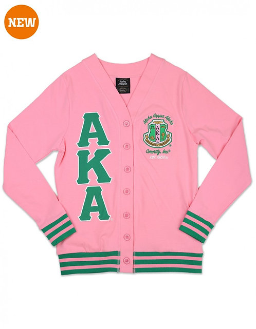 Alpha Kappa Alpha Lightweight Cardigan