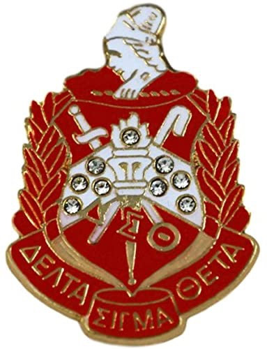 Delta Sigma Theta Shield Pin