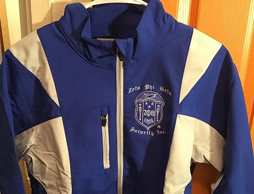 Zeta Phi Beta Ladies' Icon Colorblock Soft Shell Jacket