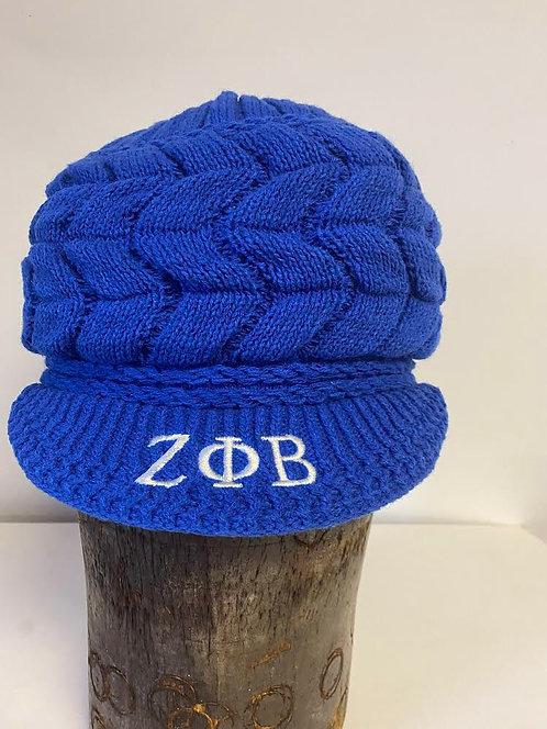 Zeta Phi Beta knit Cap