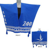 Zeta Phi Beta Woven Winter Shawl
