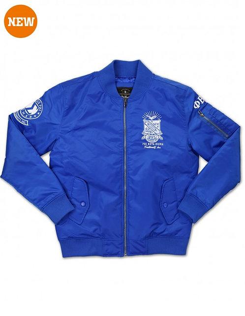 Phi Beta Sigma Bomber Jacket