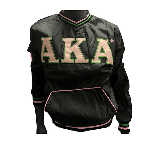 Alpha Kappa Alpha pullover windbreaker