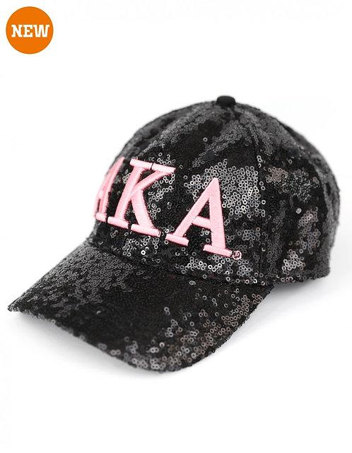 Alpha Kappa Alpha Sequin Cap