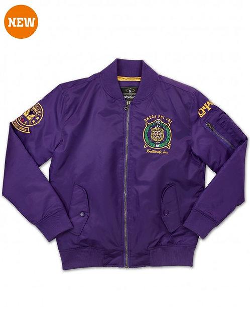 Omega Psi Phi Bomber Jacket