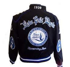 Zeta Phi Beta Twill Racing Jacket