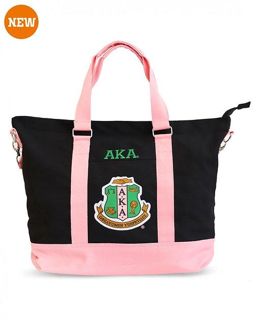 Alpha Kappa Alpha Canvas Bags