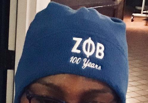 Zeta Phi Beta Fleece Beanie
