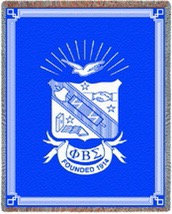 Phi Beta Sigma Throw Blanket