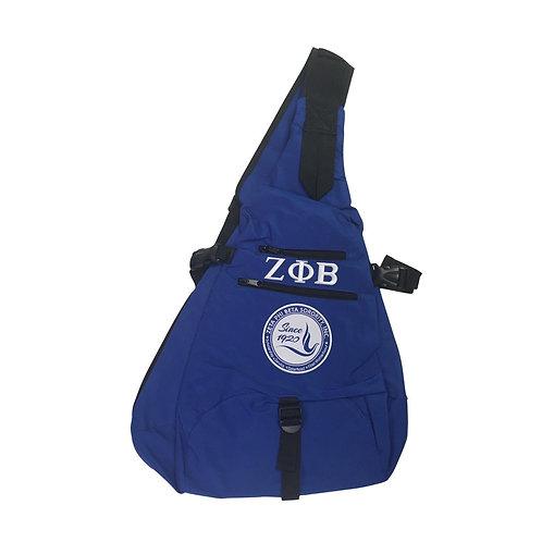 Zeta Phi Beta Sling Backpack
