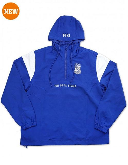 Phi Beta Sigma Anorak Jacket