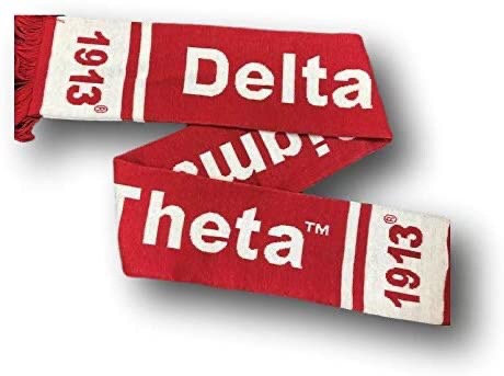 Delta Sigma Theta Scarf