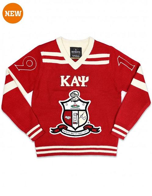 Kappa Alpha Psi V Neck Sweater