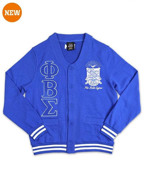 Phi Beta Sigma Lightweight Cardigan