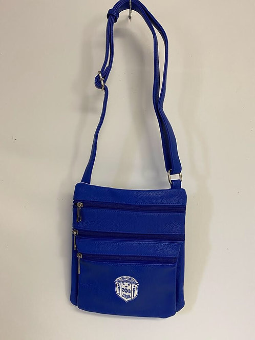 Zeta Phi Beta Cross Body Bag