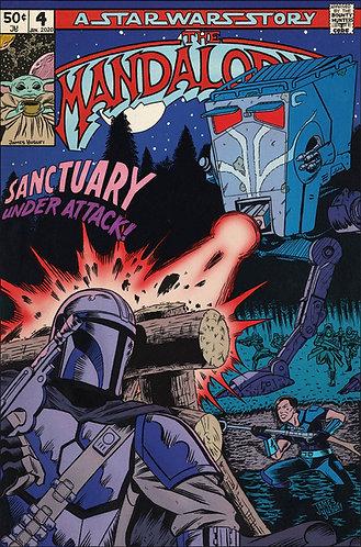 "The Mandalorian Chapter 4 - Sanctuary - 11x17"" Print"