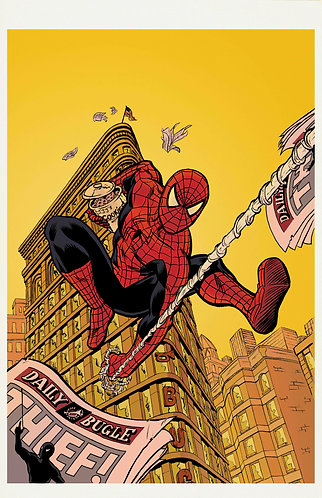 "The Sinister Spider-Menace - Virgin - 11x17"" Print"